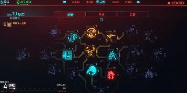 赛博朋克2077技能树介绍 技能加点一览