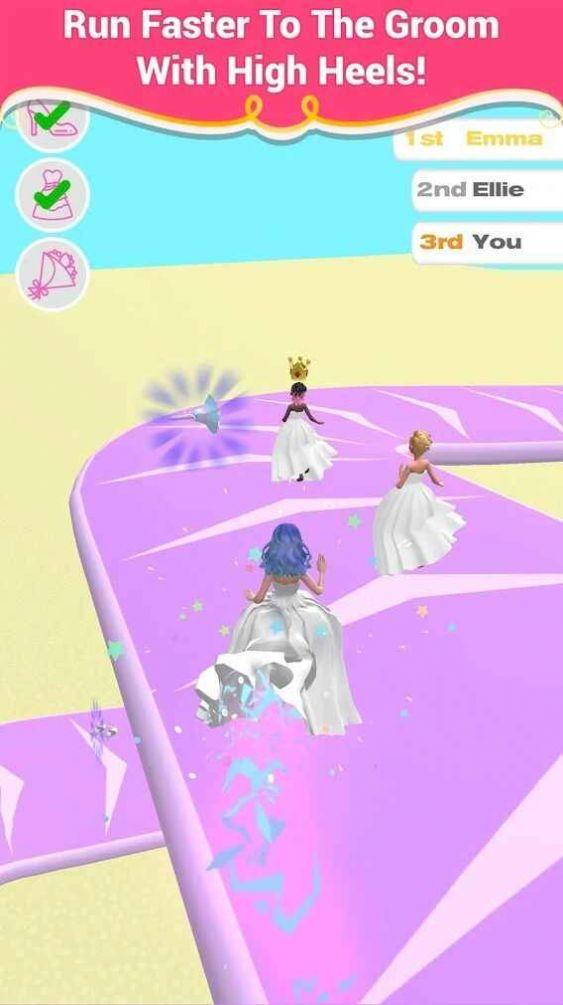 新娘快跑小游戏